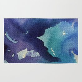 I dream in watercolor B Rug