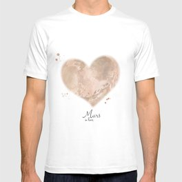 Mars in love T-shirt