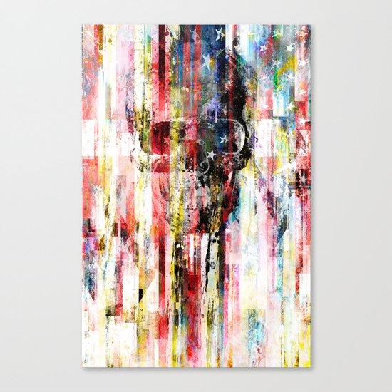 Lenny Hostile Canvas Print