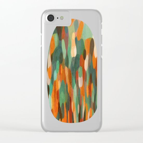 Tropical Meeting Clear iPhone Case