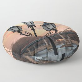 Street lamp Floor Pillow