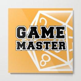 Game Master Metal Print