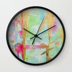 Minted Illusions Wall Clock