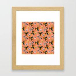 Unfinished Lemons Framed Art Print