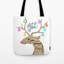 BTS Reindeer: Happy Christmas! Tote Bag
