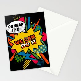 We Can Do It Stationery Cards