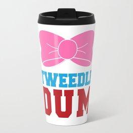 Tweedle Dee Matching Funny Graphic T-shirt Travel Mug