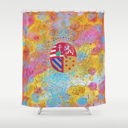 Arms of Marie Antoinette Shower Curtain
