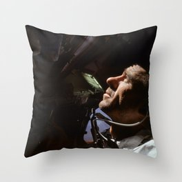 Apollo 7 - Looking At The Stars Throw Pillow