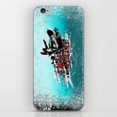 ride hard - snow iPhone & iPod Skin