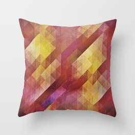 Fall pattern 2 Throw Pillow