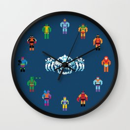 Evil Masters of the Universe Wall Clock