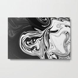 BLACK TANGERINE Metal Print