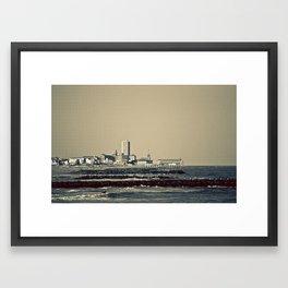 Jersey Shore 2 Framed Art Print
