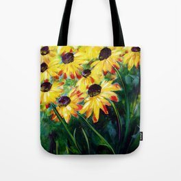 Black Eyed Suzannes Tote Bag