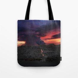 Sunset at Kalapana 2 Tote Bag