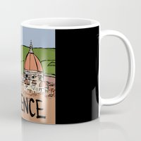 florence Mugs featuring Florence by Logan_J