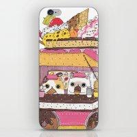 truck iPhone & iPod Skins featuring IceCream Truck by ShangheeShin