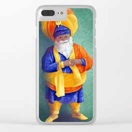 indian sultan Clear iPhone Case