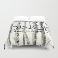 ouat Duvet Covers featuring Once Upon a Time (OUAT)  by Canis Picta