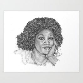 Vicki Commission Art Print