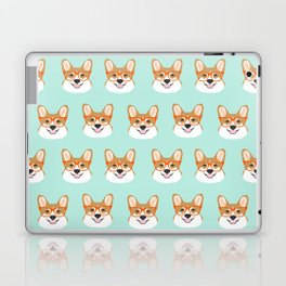 Corgi glasses cute funny dog gifts for welsh corgi dog breed owners must haves by pet friendly Laptop & iPad Skin