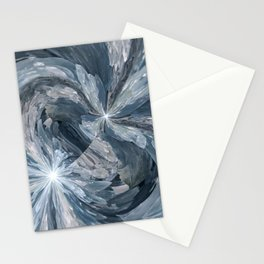 Celestite Waves Stationery Cards