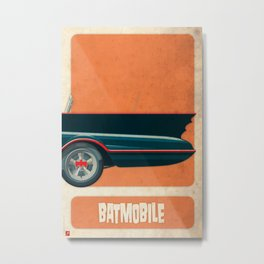Batmobile 66 part III of III Metal Print