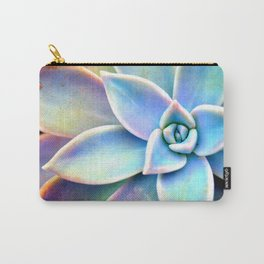 Bright Succulent Carry-All Pouch