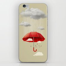Silver lining iPhone Skin
