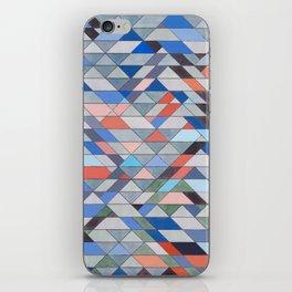 Triangle Pattern No. 7 Diagonals iPhone Skin