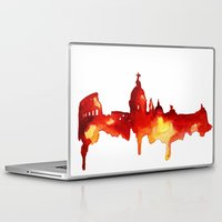 rome Laptop & iPad Skins featuring Rome by Talula Christian