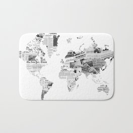 World News Bath Mat