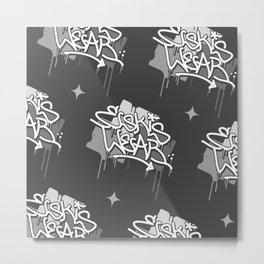 Eskis Repeat Metal Print