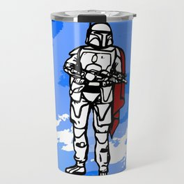 Galactic Warrior Travel Mug
