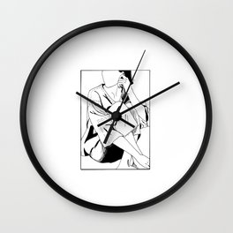 The Girl in a Box 2 - Withdrawn Wall Clock