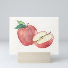 Apple and a Half Mini Art Print
