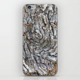 TEXTURES -- Blue Elderberry Bark iPhone Skin