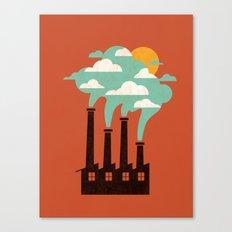 The Cloud Factory Canvas Print