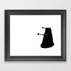 Exterminate!!! Framed Art Print