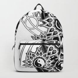 Seven Yin Yang Symmetry Balance Energy Backpack