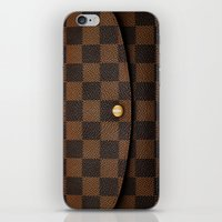 louis iPhone & iPod Skins featuring LOUIS by MiliarderBrown