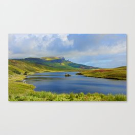Loch Fada to the Storr Canvas Print