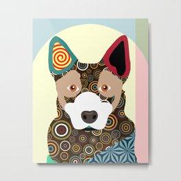 Australian Cattle Dog Metal Print