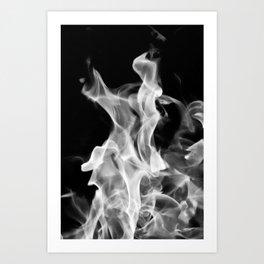 Smoke or Fire Art Print