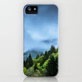 Landscape fog #society6 iPhone Case