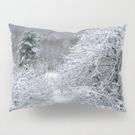 Vermont Winter Habitat in Snow Pillow Sham