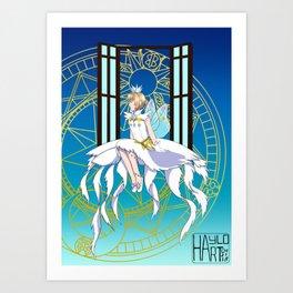 Card Captor Sakura Clear Card Art Print