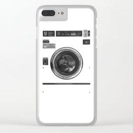 Laundromat Clear iPhone Case