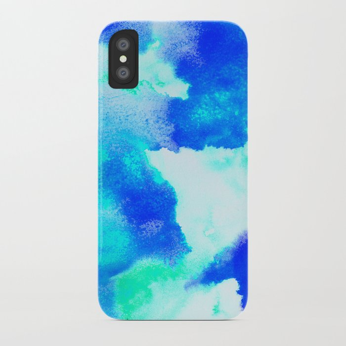 Blue Java iPhone Case